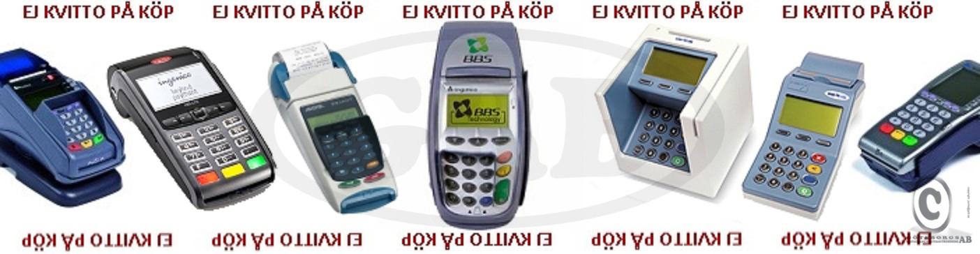 Kontokortsrullar Betalterminal